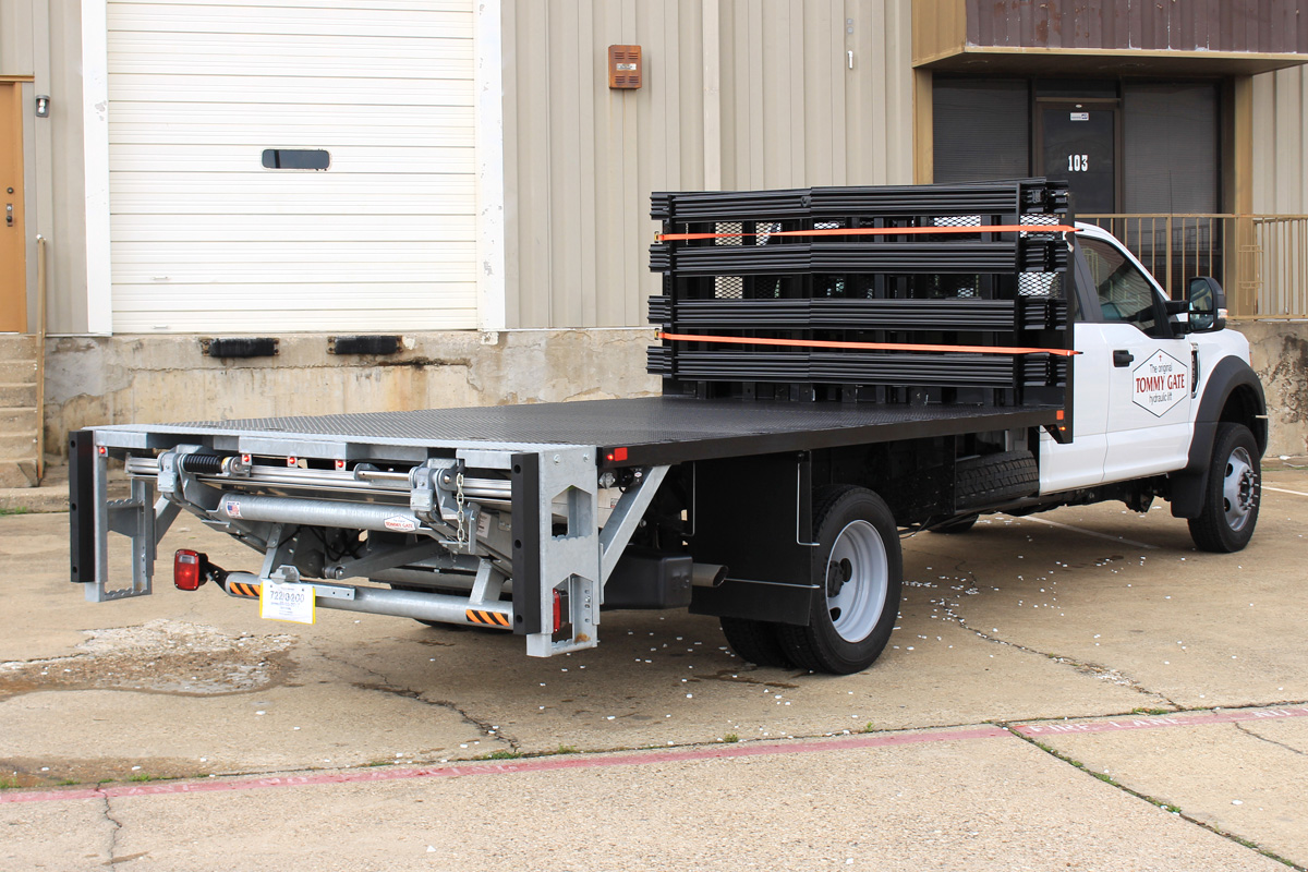 Tommy Gate Liftgates For Flatbeds Box Trucks What To Know Truck Lift Wiring Diagram If An Operator Is Looking Have A Tuckunder Installed Then The Vehicle Must Bed Height Tall Enough Allow Liftgate Lower Fold